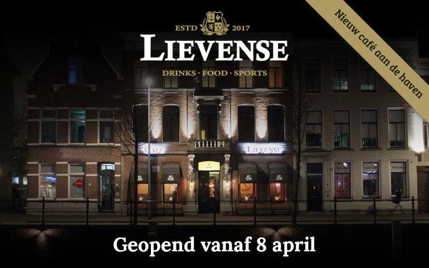 Opening Café Lievense